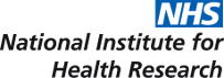 National Institute of Health Research logo